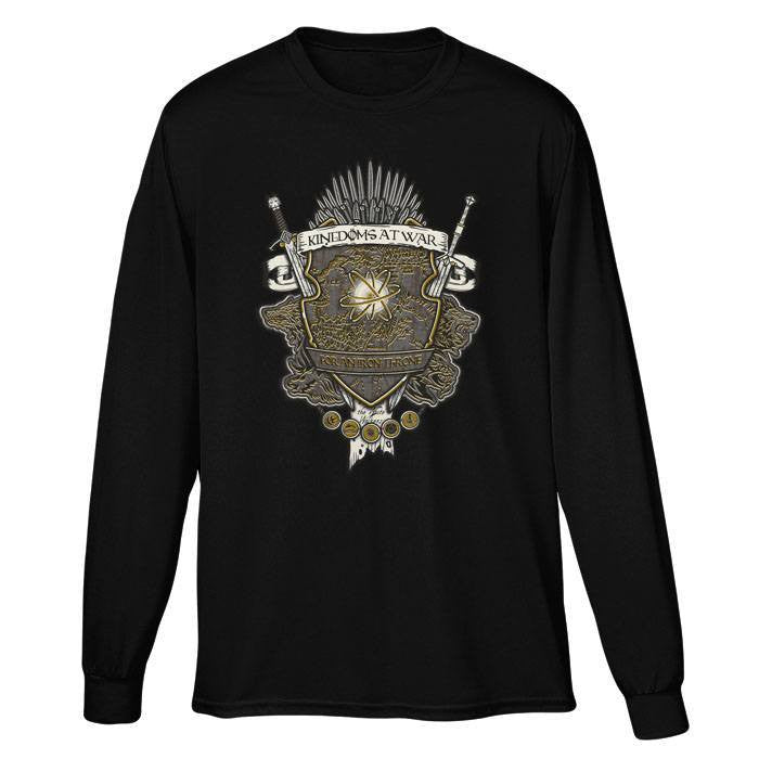 Crest of Thrones - Long Sleeve T-Shirt (Unisex)