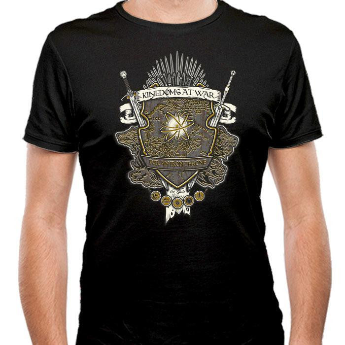 Crest of Thrones - Men's Fitted T-Shirt