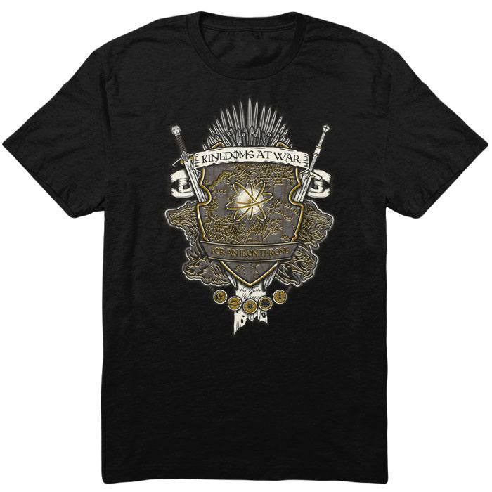 Crest of Thrones - Men's T-Shirt
