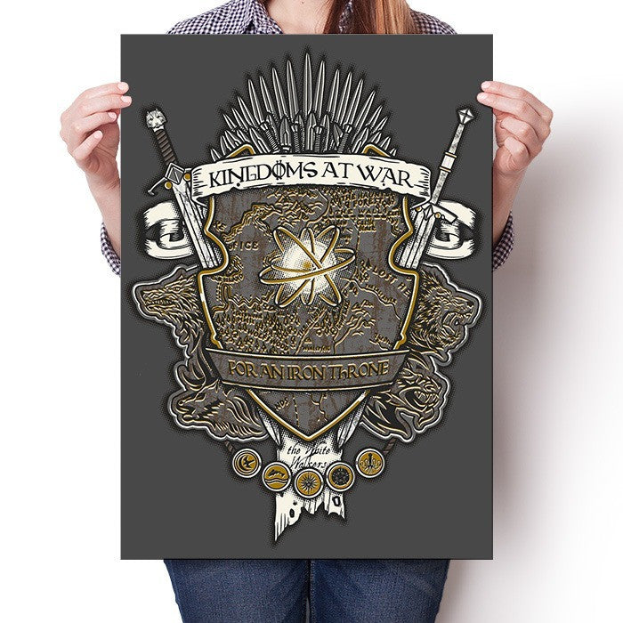 Crest of Thrones - Poster