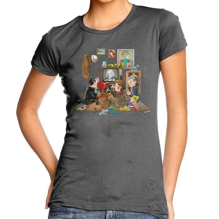 DW 50th Anniversary - Women's Fitted T-Shirt