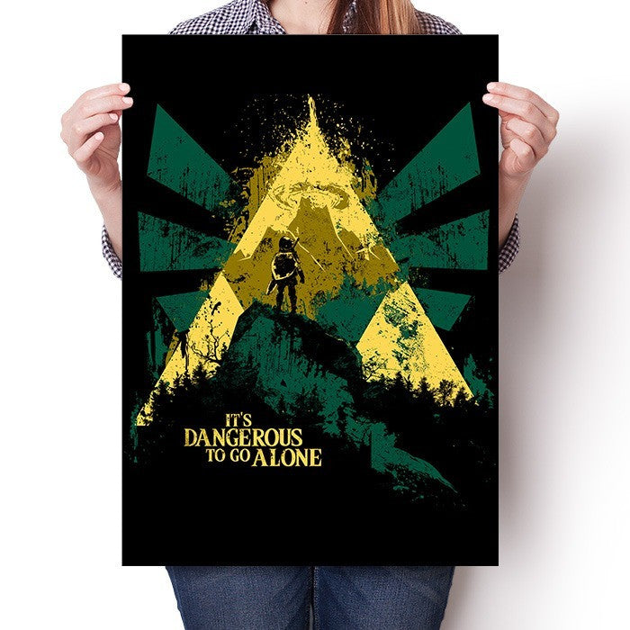 It's Dangerous to Go Alone - Poster
