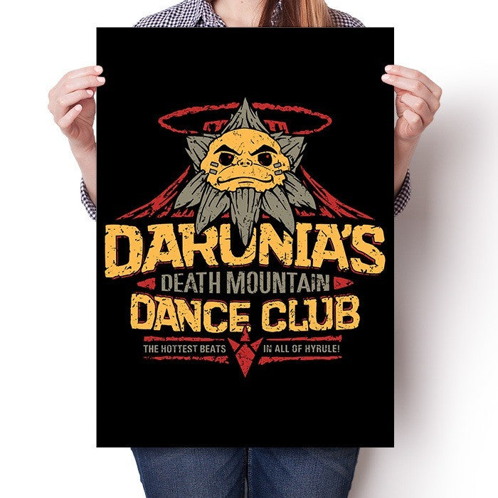 Darunia's Dance Club - Poster