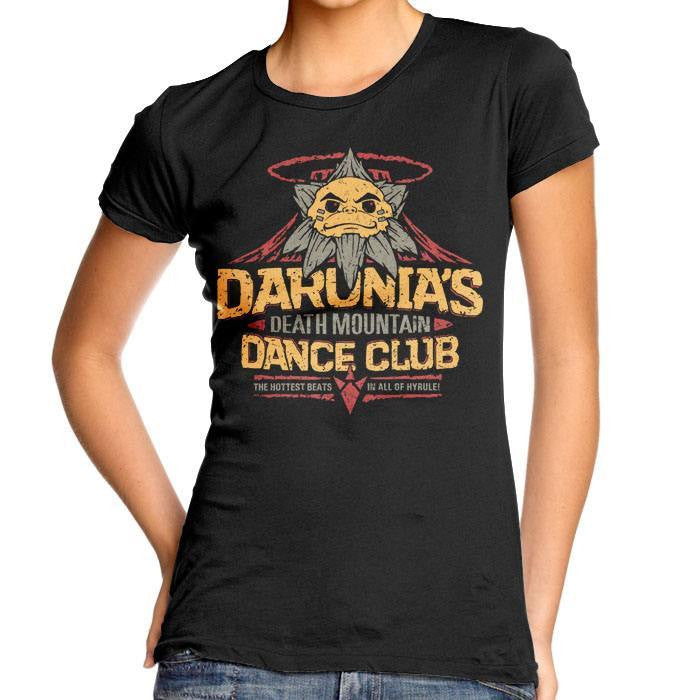 Darunia's Dance Club - Women's Fitted T-Shirt