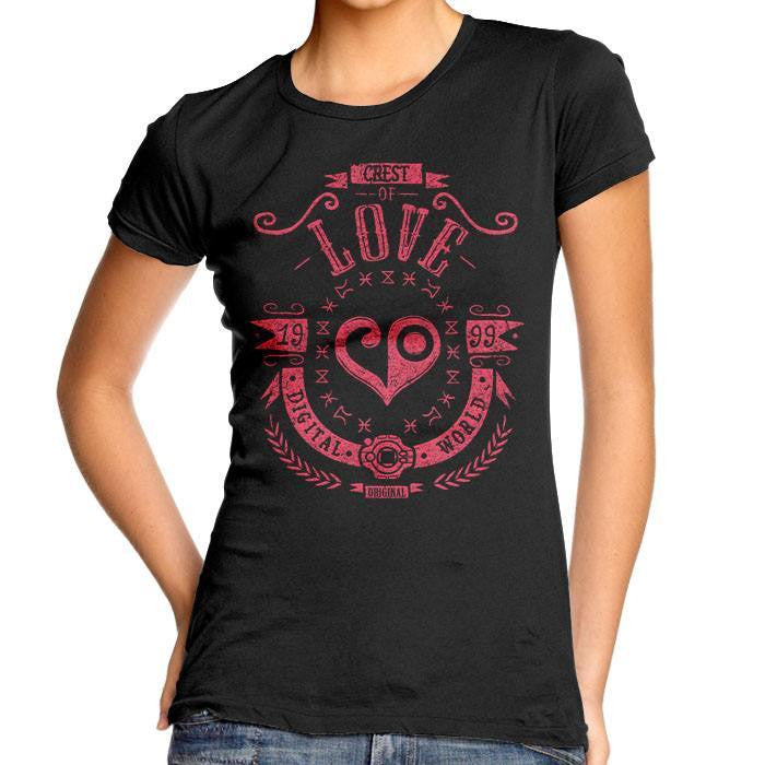 Digital Love - Women's Fitted T-Shirt
