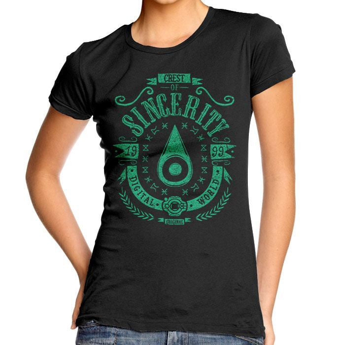 Digital Sincerity - Women's Fitted T-Shirt