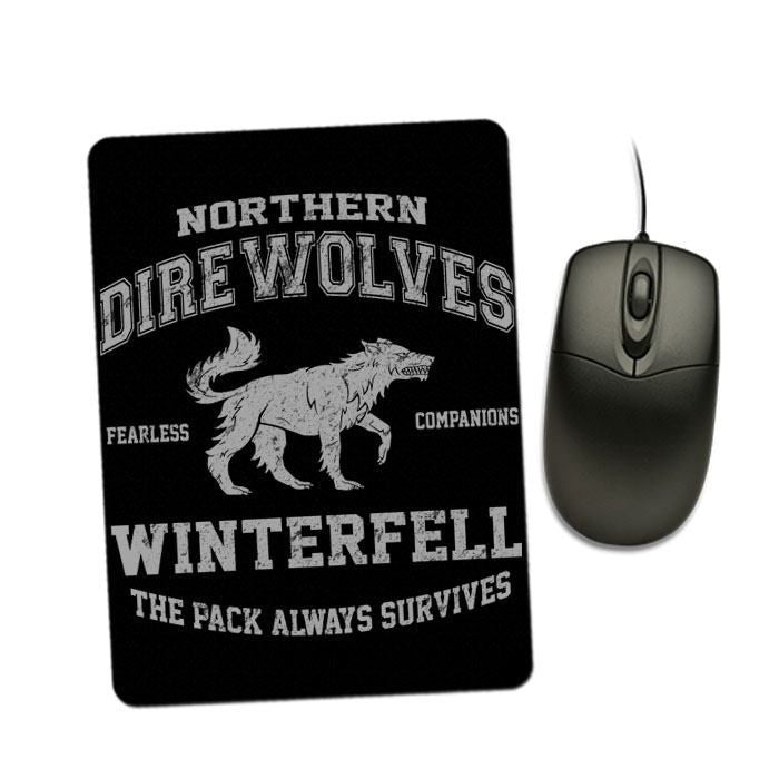Direwolves - Mousepad