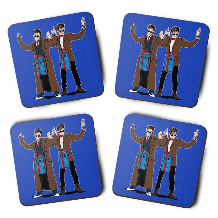 Doc in a Box - Coasters