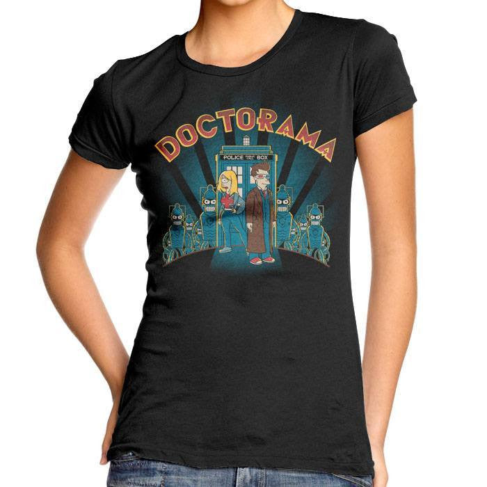 Doctorama - Women's Fitted T-Shirt