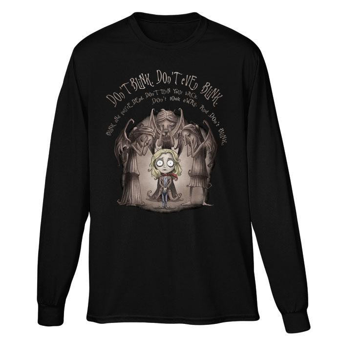 Don't Blink - Long Sleeve T-Shirt (Unisex)