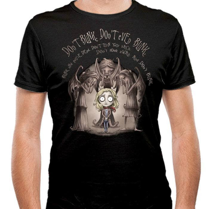 Don't Blink - Men's Fitted T-Shirt