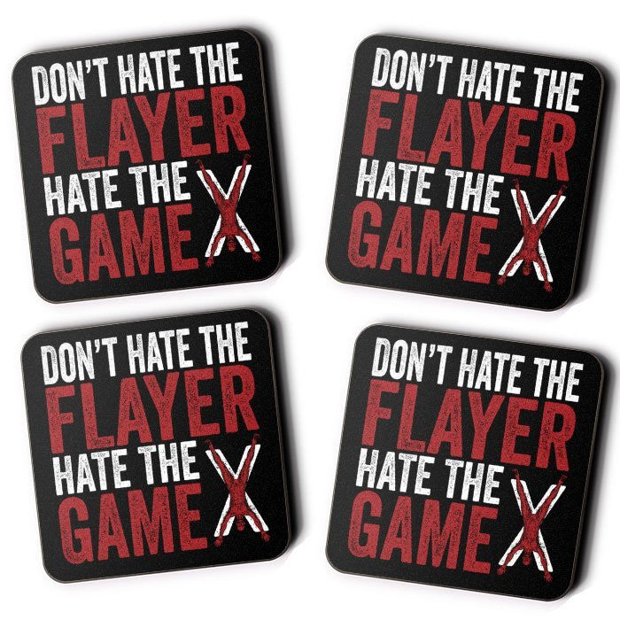 Don't Hate the Flayer - Coasters