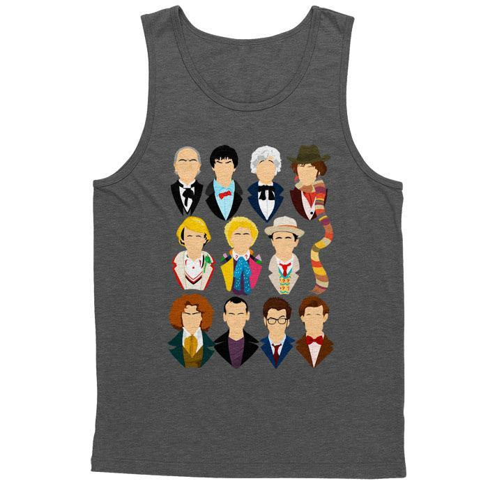 Eleven Doctors - Men's Tank Top