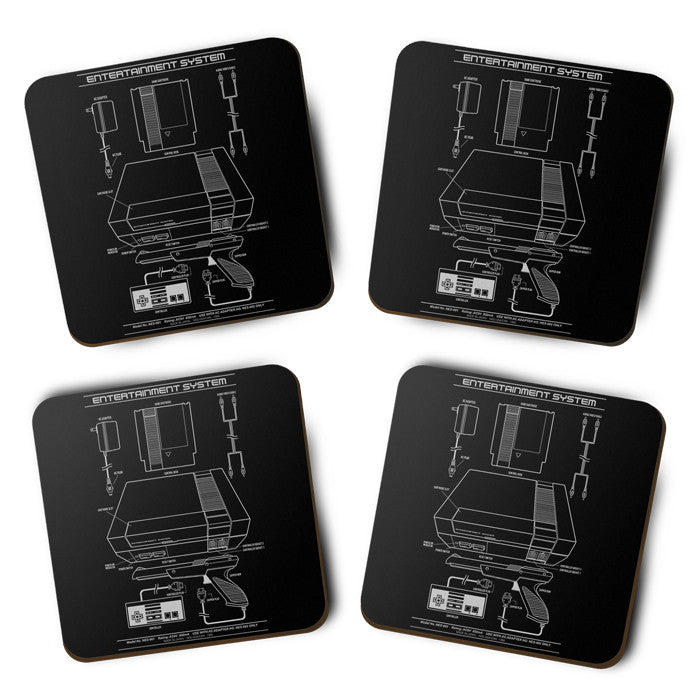 Entertainment System - Coasters