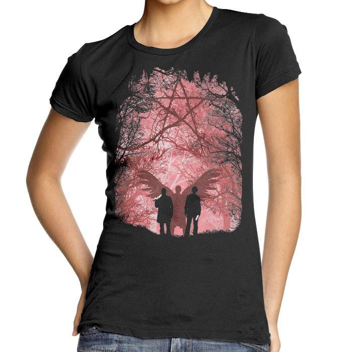 Famous Hunters - Women's Fitted T-Shirt