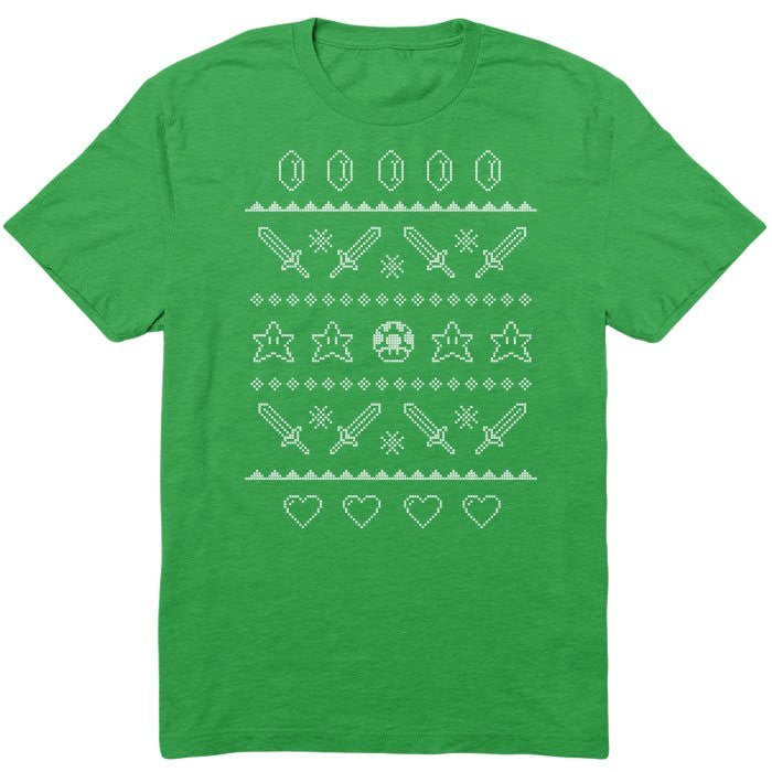 Festive Gaming Sweater - Youth T-Shirt