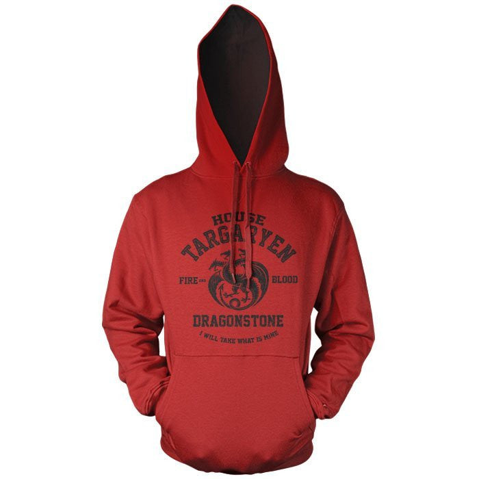 Fire and Blood (Black) - Pullover Hoodie