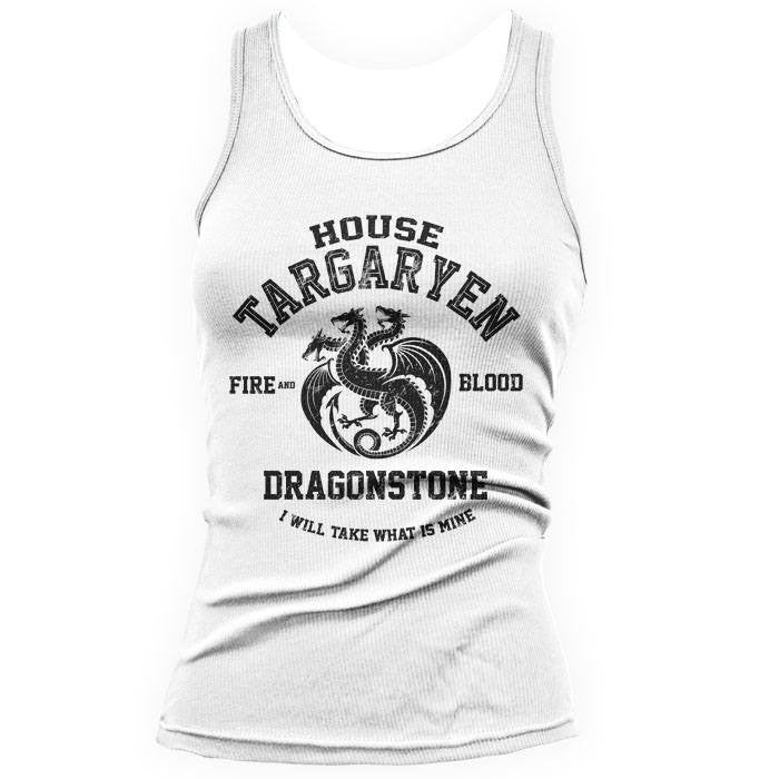 Fire and Blood (Black) - Women's Tank Top