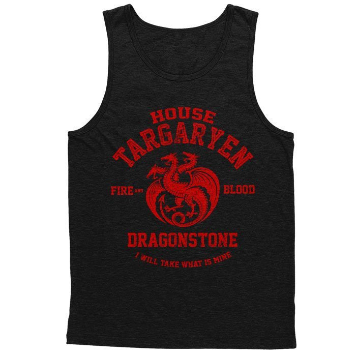 Fire and Blood - Men's Tank Top