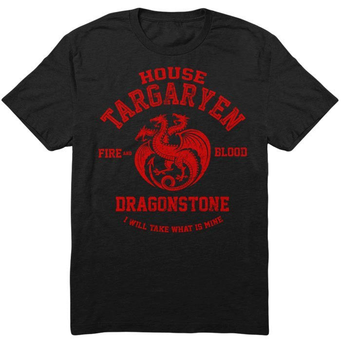 Fire and Blood - Men's T-Shirt