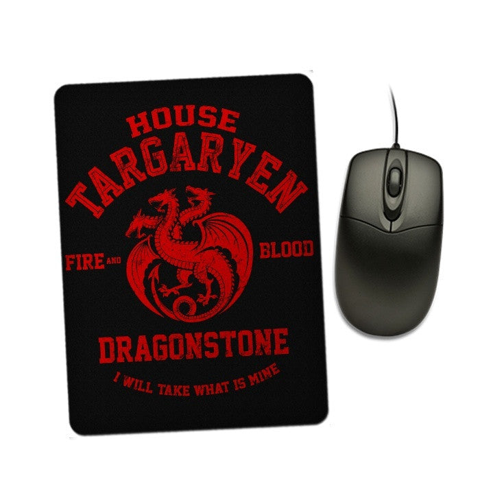 Fire and Blood - Mousepad