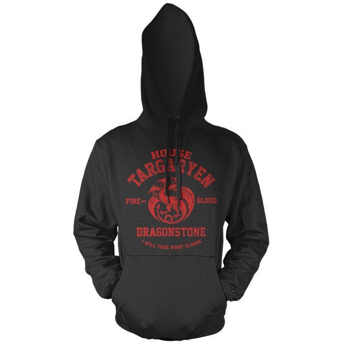 Fire and Blood - Pullover Hoodie