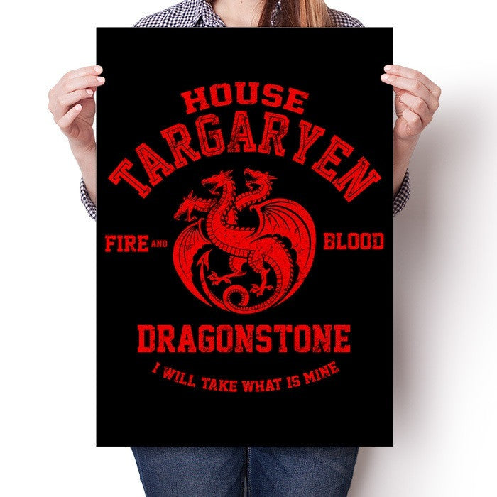 Fire and Blood - Poster