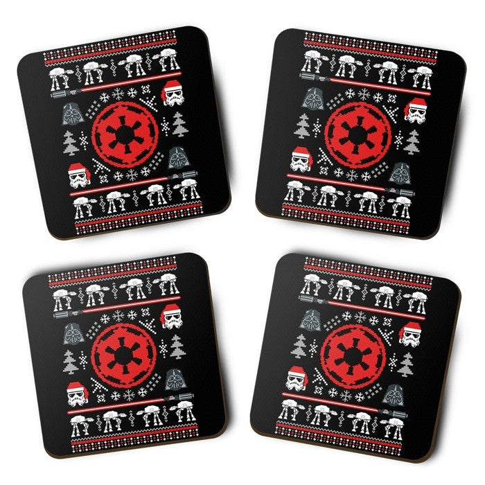 Galactic Holiday Sweater - Coasters