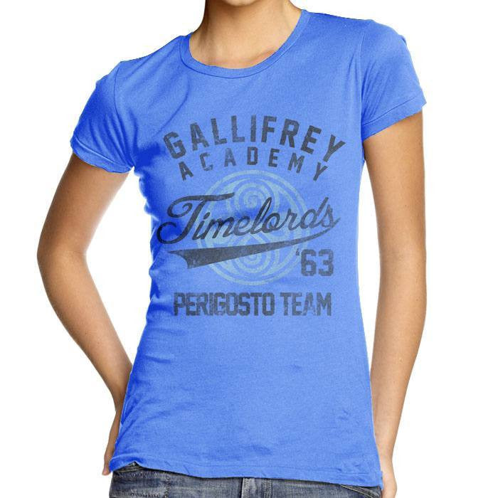 Gallifrey Academy - Women's Fitted T-Shirt