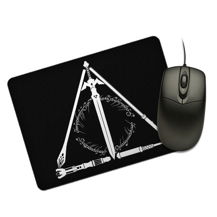 Geeky Hallows - Mousepad