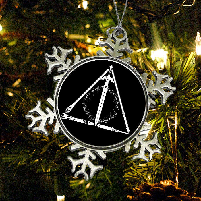 Geeky Hallows - Ornament