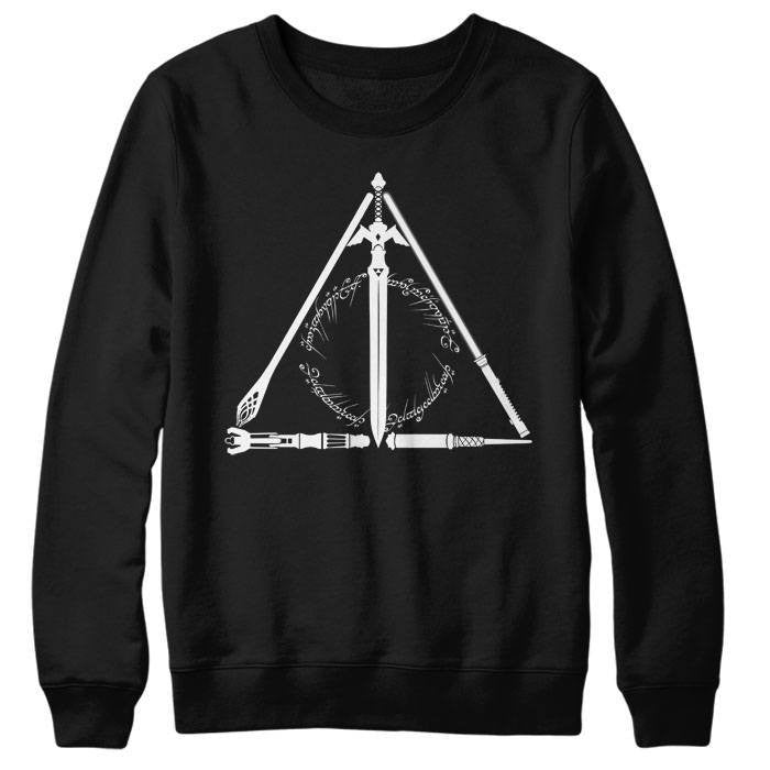 Geeky Hallows - Sweatshirt