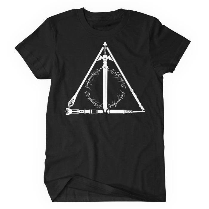 Geeky Hallows - Women's T-Shirt