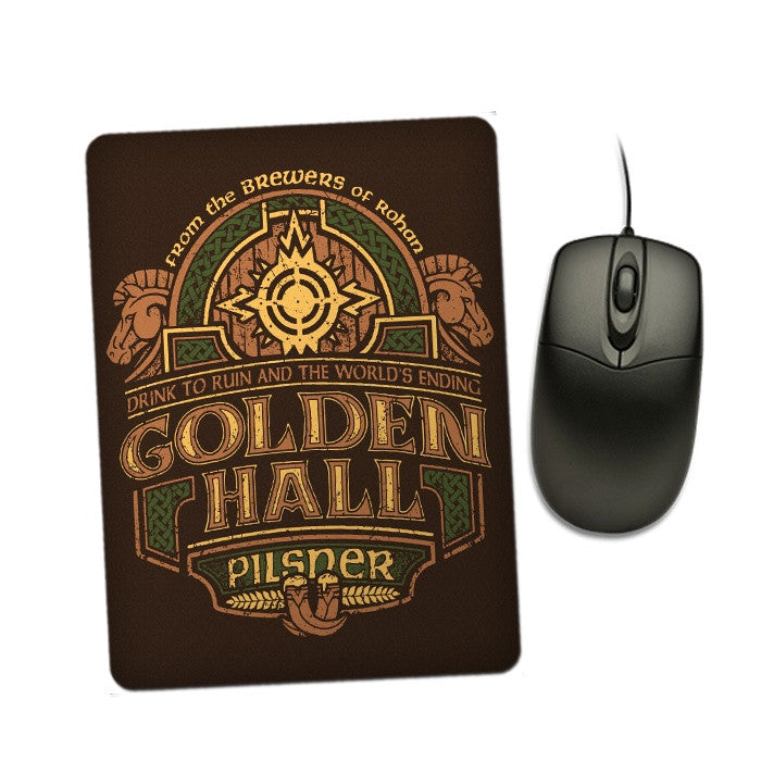 Golden Hall Pilsner - Mousepad