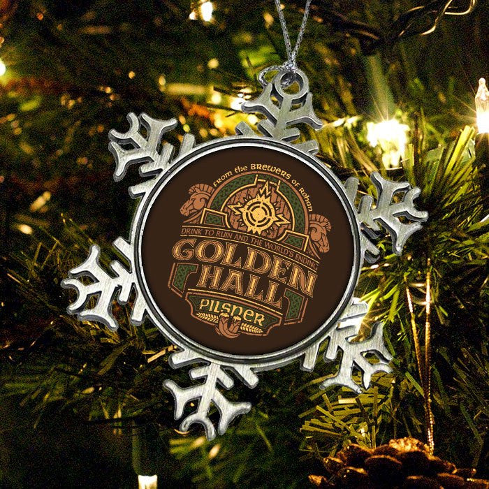 Golden Hall Pilsner - Ornament