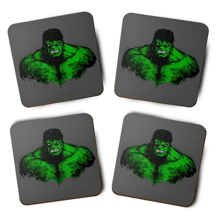 Green Fury - Coasters