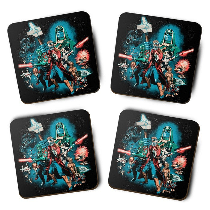 Guardians Far Away - Coasters