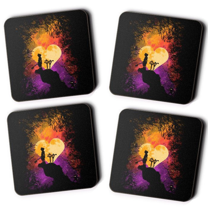 Heart of Gold - Coasters