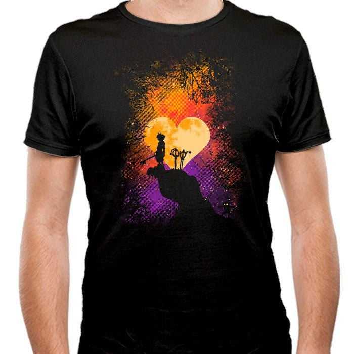 Heart of Gold - Men's Fitted T-Shirt