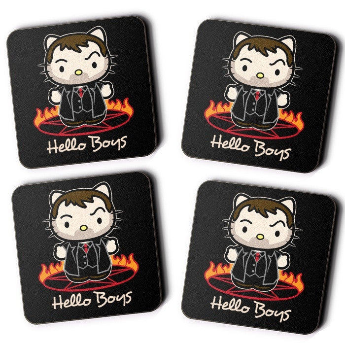Hello Boys - Coasters