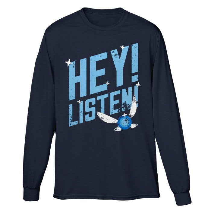 Hey Listen - Long Sleeve T-Shirt (Unisex)