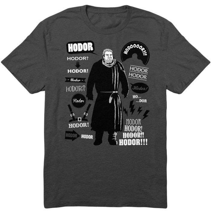 Hodor Famous Quotes - Youth T-Shirt