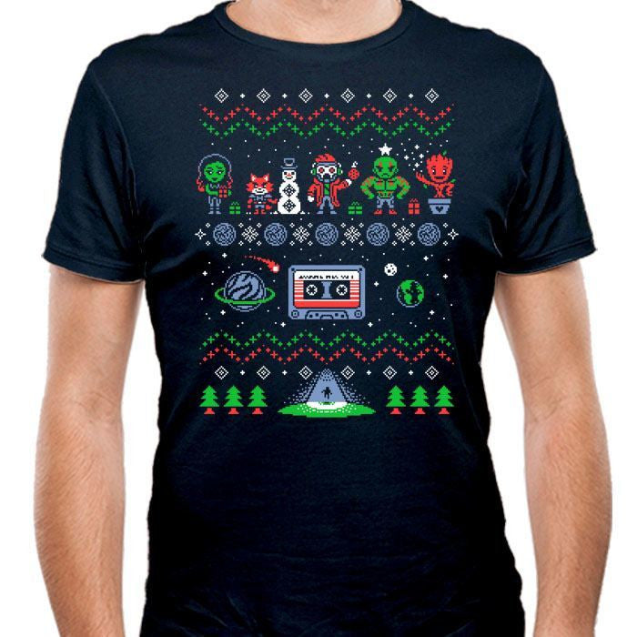 Holiday Guardians - Men's Fitted T-Shirt