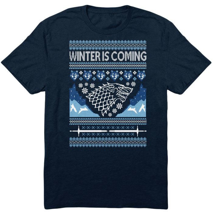 Hoildays are Coming (Blue) - Youth T-Shirt