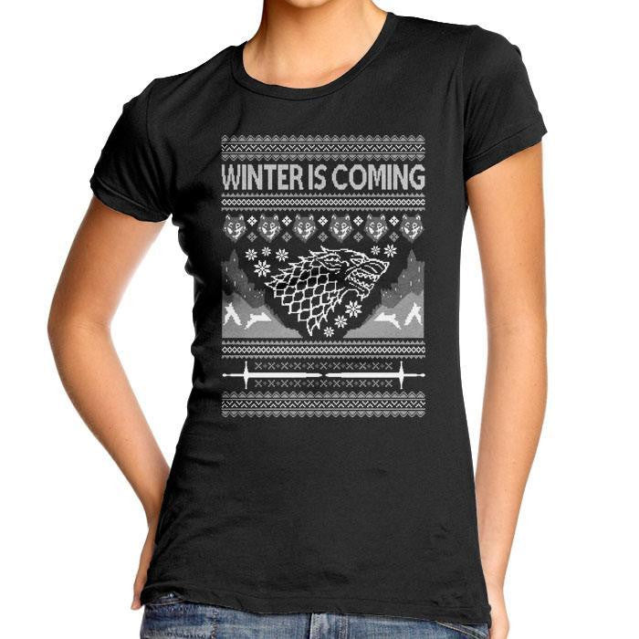 Holidays are Coming - Women's Fitted T-Shirt