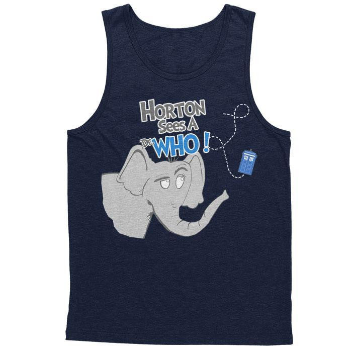 Horton Sees a Dr. Who - Men's Tank Top