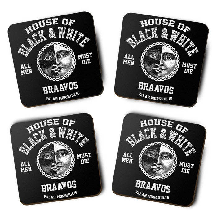 House of Black and White - Coasters