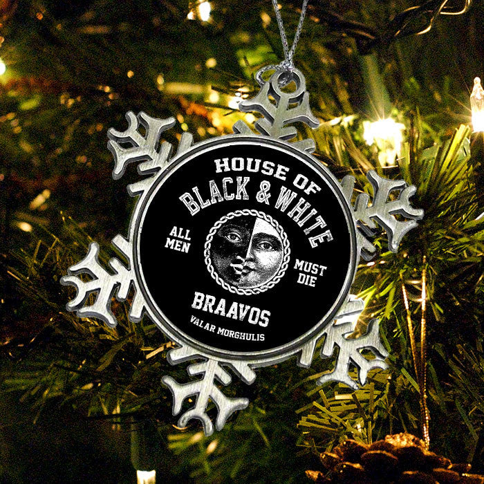 House of Black and White - Ornament