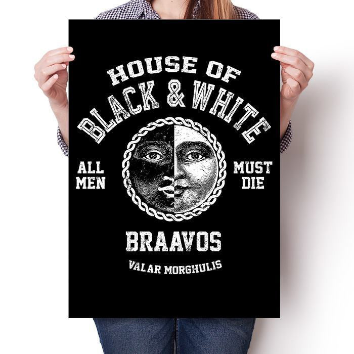 House of Black and White - Poster