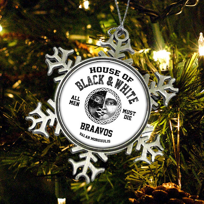 House of Black and White (Black) - Ornament